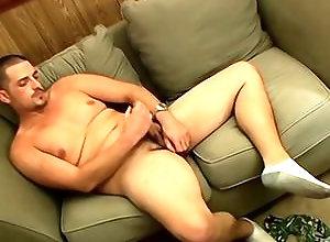 Gay,short hair,on the sofa,american,gay,gay solo masturbation,socks,youngblood A Lot Of Attitude...