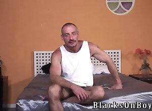 big cock,blowjob,interracial,ebony,gay,threesome Black thugs...