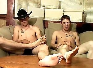 Gay,Gay Feet/Foot Fetish,Gay Masturbation,lee barstow,tattoo,masturbation,foot fetish,brown hair,average dick,short hair,young men,cum jerking off,american,gay,jeans,socks,underwear,gay porn Cowboy Feet And...