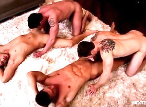 blowjob;bareback,Gay;College Brothers Without...