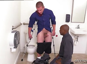 blowjob,interracial,gay,black on white Young straight...