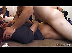 bondage,gay,twin,gay gagged and banged