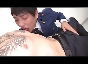cock,blowjob,gay,japanese,boy,twinks,police,handsome,gay T&ecirc_n...