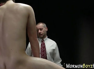 bear,hd,uniform Mormon fucked in...