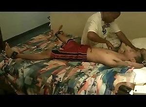 tickling;bondage-tickling;feet,Latino;Fetish;Gay Diego gets Tickled