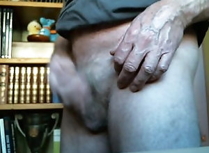 spanking;bonne-fessee;masturbation-orgasm;cumming;cum-eating;ejaculation,Solo Male;Gay;Amateur;Webcam Spanking before...