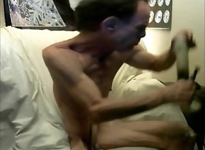 smoke;big-dick;no-hands;squirting-orgasm;pirced-cock;pierced-nipples,Solo Male;Gay playing