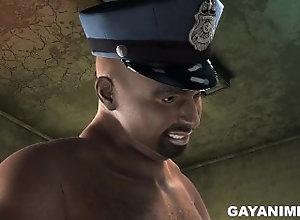 gayanime;interracial;ebony;anal;bareback;blowjob;toy;uniform;cop-and-prisoner;cum-shot;facial;toys;bent-over;bbc;big-black-cock;doggy-style,Blowjob;Gay;Interracial 3D cartoon...