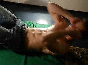 muscle;bodybuilder,Muscle;Solo Male;Gay Situp Challenge