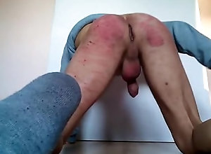 spanking;amateur,Fetish;Solo Male;Gay;Amateur spanking, ass,...