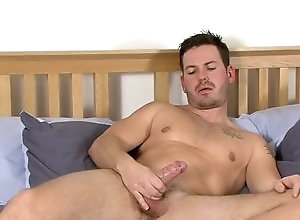Gay,scott foden,gay,gay solo masturbation,gay bed,allya Handsome Scott Is...