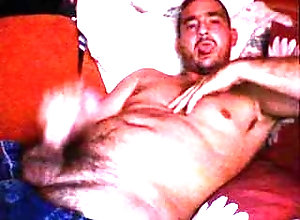webcam;jerking-off;straight,Solo Male;Gay;Straight Guys daddy moaning and...