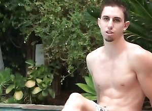 Gay,Gay Outdoor,Gay Hunk,gay,outdoor,hunk,young men,interview,poolside Jake Orion