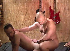 Gay,gay,men,doggy style,gay fuck gay,gay porn,kissing,missionary,ass fingering Jay Mann and Damon