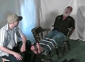 bubbafeet;tickling;foot-fetish,Gay;Feet Trucker feet tickled