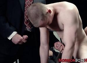 bareback,blowjob,cumshot,group Gay mormons group...