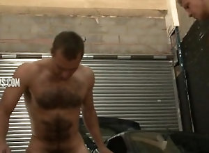 enema;facesitting;rimseat;squirt-in-face;hairy,Fetish;Gay;Hunks Ass Water to the...
