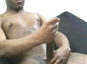gay,handjob,masturbation Thug Playing His...