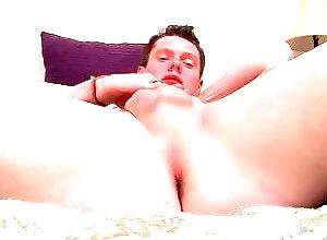 Gay,Gay Masturbation Solo,gay,solo,masturbation,cut,smooth,tattoo,young men,bedroom,jeans,socks Aaron Manson...