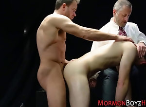 anal,bareback,cumshot,toy Mormon elder ass...
