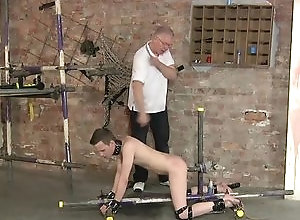 Gay,Gay Daddy,Gay Twink,Gay Bondage,Gay BDSM,Gay Domination,Gay Fetish,sebastian kane,Cameron James,bondage,fetish,domination,british,cock and ball torture,gay,daddy,old vs young,twink,spanking,bdsm,ass fingering,Toys,gay porn Made To Take A...