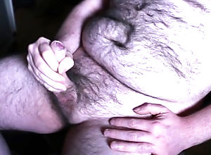 cumchot;handjob;fat;ugly;hairy;bear,Solo Male;Gay;Handjob;Cumshot Une branlette...