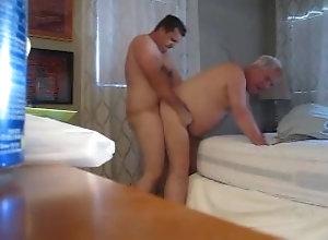 daddy;rough-doggystyle,Daddy;Gay;Rough Sex Daddy get fuck
