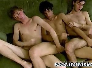 amateur;black-hair;cut;gay-sex;3-some;twink;blond-hair;short-hair;gay-porn;kissing;anal;gay;trimmed;ass-play,Twink;Gay;College Boys self gay sex...