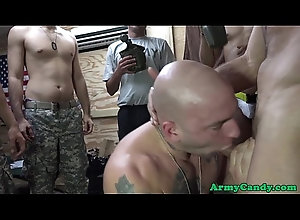 interracial,blowjob,tattoo,amateur,uniform,group,gay,reality,muscle,military,muscular,facefucking,army,soldier,gaysex,gay Black army...