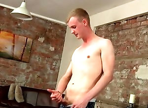 Gay,ryan cayman,solo,masturbation,blond hair,large dick,short hair,young men,cum jerking off,in the bedroom,british,gay Inexperienced...