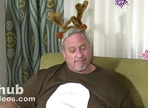 chubby;chub;fat;gay;gay-sex;daddy;mature;older-men;man;xmas;christmas;porn;elf;reindeer;top,Daddy;Gay;Bear The Pink Nose...