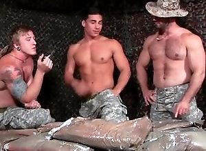 Gay,Gay Threesome,Drill My Hole,gay,gay threesome,gay men,gay muscled,tattoo,gay blowjob,gay fuck gay Tour of Duty Part...