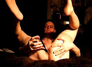anal,stockings,dildo,solo,exhibitionism,gay,feet,mast,gay Stockings and a...