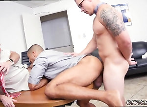 blowjob,gay,group,anal gaping Office worker...