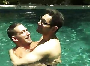 Gay,Gay Outdoor,Gay Muscled,Gay Pornstar,gay,outdoor,pool,muscled,glasses,pornstars,young men,kissing,gay porn Atticus Fox &...
