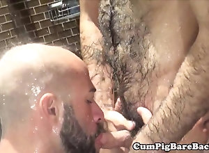doggystyle,hairy Mature bear...