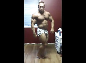 bodybuilder;bodybuilding;flexing;flex;posing;pose;muscles;muscle;muscular;muscle-worship,Muscle;Solo Male;Gay Bodybuilder...