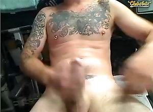 cumshot,cum,tattoo,webcam,gay,ginger,wanking,exhibitionist,beard,cocky,straight-guy,nipple-piercings,nice-cock,red-beard,ginger-beard,nipple-rings,Cumshot Laid back...