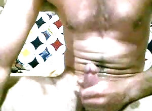 cumshot;hung,Muscle;Solo Male;Gay Morning j/o and cum