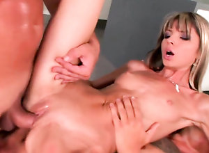Threesome,MMF,Pornstars/Babes,Small Tits,Gay Hardcore,Double Penetration Doris Ivy DP and...