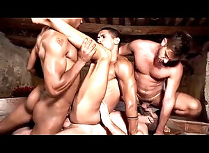 anal,hot,creampie,rough,dp,oral,gay,bareback,gay Foursome 2