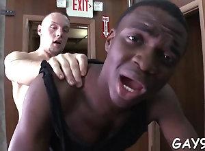 blowjob,fucking,hardcore,interracial,gay black man loves...