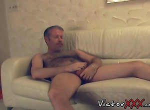 blowjob,couple,gay,mature Hairy daddy...