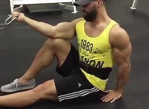 bicep;flex,Muscle;Solo Male;Gay;Hunks Train biceps