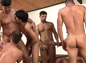 magnusmuscle;military;barracks;muscle-men;latino;group-sex;orgy,Muscle;Pornstar;Group;Gay,Alex Leite;Alex Victor;Junior Pavanelli;Marcos Cabo Military dudes in...