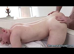 anal,cumshot,hardcore,uniform,masturbation,gay,underwear,bareback,taboo,hd,bear,rimjob,mormon,religious,oldvsyoung,gay Mormon ass cum...