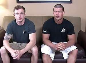 Gay,Gay Muscled,muscular,smooth,duo,blowjob,tattoo,gay fuck gay,gay porn,young men,large dick Brad &...