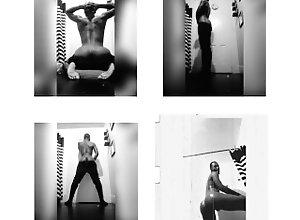 gay;ass;black;twerkin;stripper,Black;Gay;Exclusive Just a lil shower...