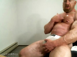 gay,hunk,muscle Tom Lord in his...