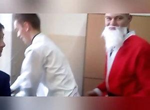 santa;christmas,Twink;Fetish;Gay Santa fucked by...